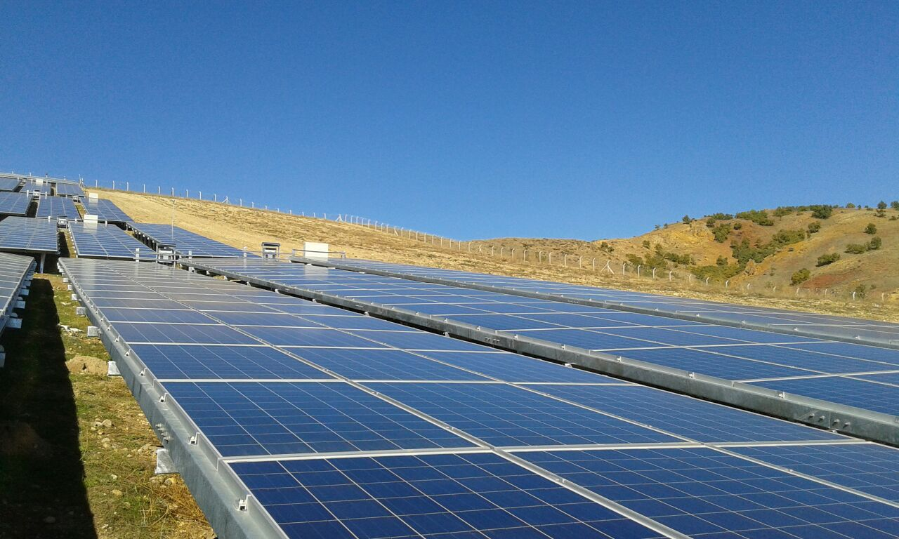1150 Kwp Turkey Solar Plant